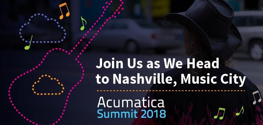 Acumatica SUmmit 2018